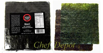 nori for making sushi rolls