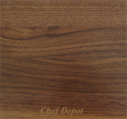 Edge grain Walnut Wood Kitchen Counter Top