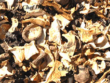 Sun Dried Wild Mushrooms