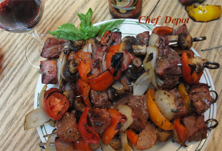 Simple BBQ Kabob Recipes, search Marinates on the site