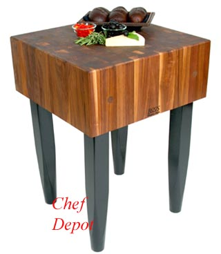 Solid Walnut PCA Chefs Block