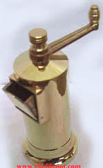 Brass Pepper Mill from Greece