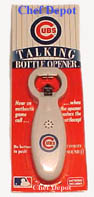 Talking Beer Opener - The Chicago Cubs