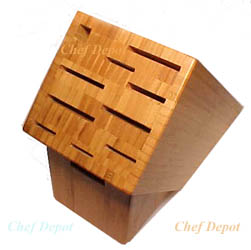 11 Slot Bamboo  Knife Block