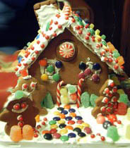 Chefs Gingerbread House
