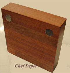 Small Modern Knife Block