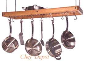 JK Adams Cherry Pot Rack