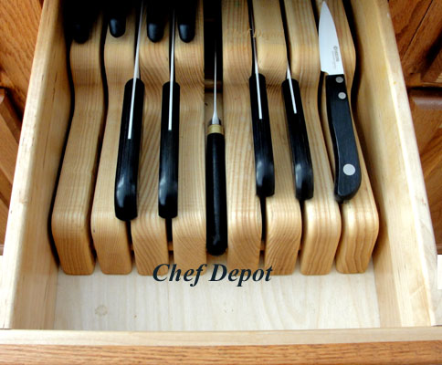 in drawer storage Knife Tray