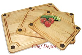 Cutting Board With Non Slip Silicone Feet