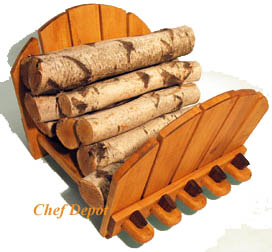 JK Adams log Rack