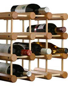 Hardwood Wine Rack