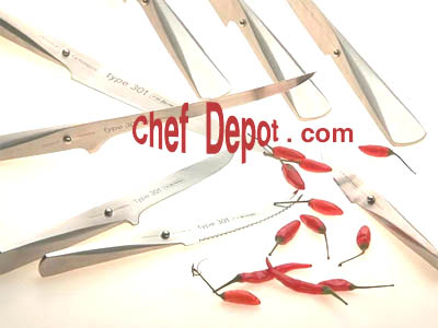 Type 301 Chroma Porsche Knives