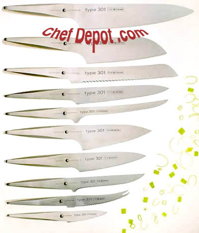 Type 301 Porsche Chef Knives