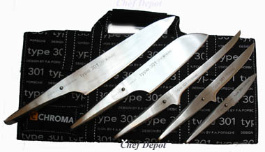 Type 301 Porsche Designed Chef Knife Set