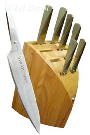 Type 301 Porsche Designed Knife Block Set