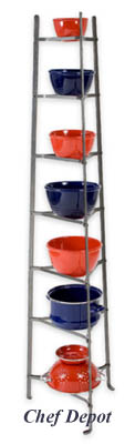 7 Tier Pot Rack