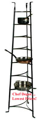 8 Tier Pot Rack