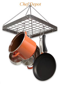New Square Designs Pot Rack