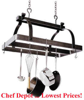 Classic Rectangle Pot Rack
