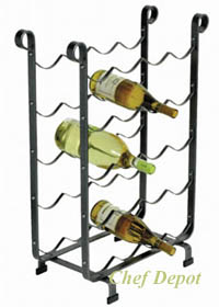 Iron Wine Rack