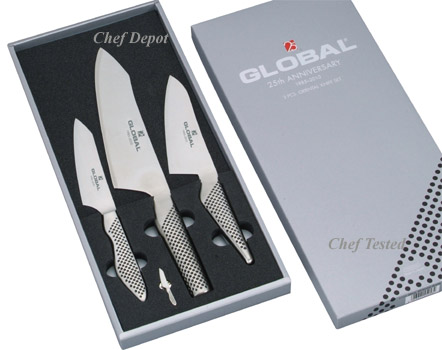 Global Anniversary Knife Set Sale and Global Knives Review