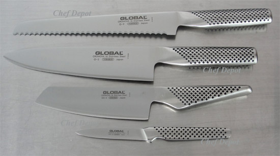 Global Knife Block Sets
