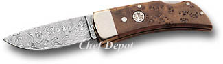 Boker Damascus Pocket knife