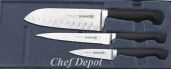 Mundial Santoku Knife Set