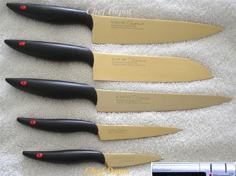 Charmant Kasumi Chef Knife Set