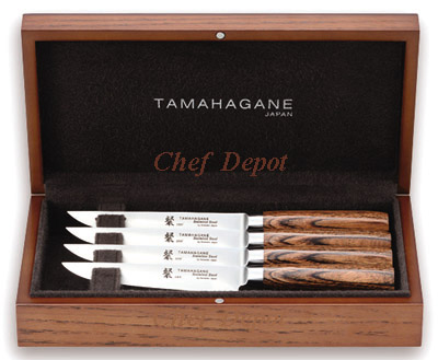 Tamahagane Steak knife presentation Set