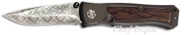 Boker Leo Damascus Pocket knife