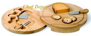 Cheese Knife cutting board Set