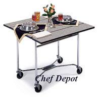 Geneva smart carts foodservice carts trolleys room for Hotel room service cart