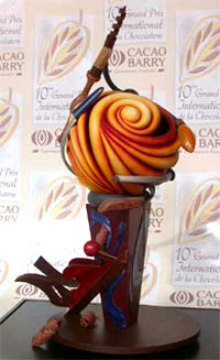 Award Winning Sculpture by Chef Peter Rios