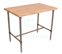 John Boos & Chef Depot Breakfast Bar Table