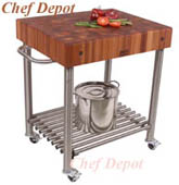 Cucina Damico Table with Lyptus Top