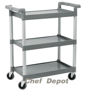 busboy restaurant garage cart
